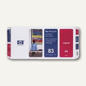 HP UV Druckkopf Nr.83 magenta inkl. Reiniger, C4962A