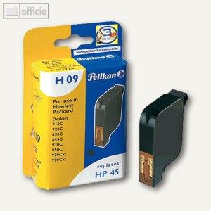 Pelikan Patrone InkJet H09, kompatibel zu HP 51645A, 42 ml, 331724
