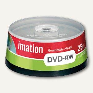 DVD-RW Rohlinge, 4.7 GB, 4x Speed, wiederbeschreibbar, 25er Spindel, 21063