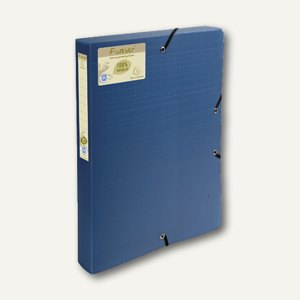 Exacompta Archivbox forever Recycled PP, 330x250x40mm, blau, 553572E