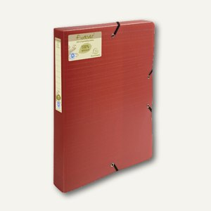 Exacompta Archivbox forever Recycled PP, 330x250x40mm, rot/orange, 553575E