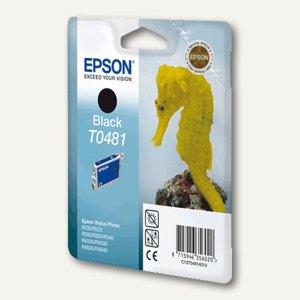 Epson Tintenpatrone T0481, schwarz, C13T04814010