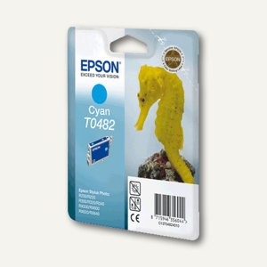 Epson Tintenpatrone T0482, cyan, C13T04824010