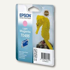 Epson Tintenpatrone T0486, magenta hell, C13T04864010