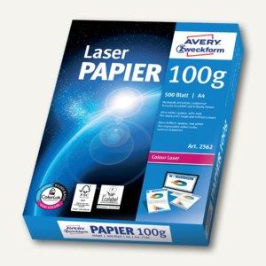 Zweckform Drucker- & Kopierpapier, DIN A4, 100g/m², satiniert, ultraweiß, 2562