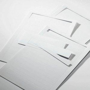 Artikelbild: Etiketten für Türschilder SILVER