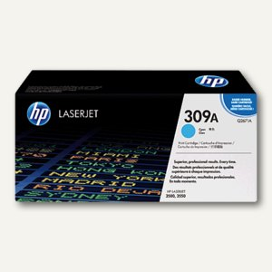 HP Druckkassette / Toner 309A, cyan, Q2671A