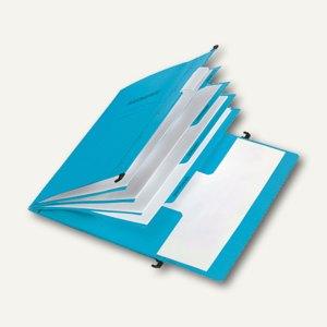 Pagna Personalakte, 5-teilig, B 340 x H 245 x T 3 mm, blau, Karton, 44105-02