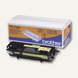 Brother Toner, ca. 3.300 Seiten, schwarz, TN7300