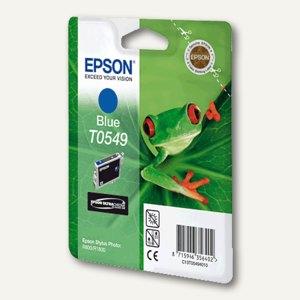 Epson Tintenpatrone T0549, blau, C13T05494010