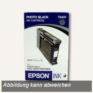 Epson Tintenpatrone, foto-schwarz, 110 ml, C13T543100