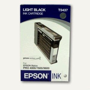 Epson Tintenpatrone, grau (hell-schwarz), 110 ml, C13T543700