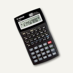 Canon wissenschaftlicher Taschenrechner F-502G, 10+2-stellig, schwarz, 3497B004