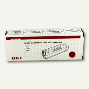 OKI Toner magenta ca. 3.000 Seiten, 42804506