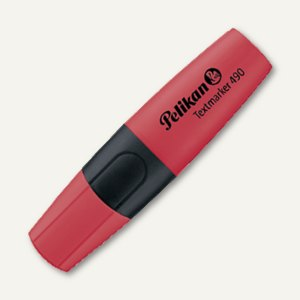 Pelikan Textmarker 490, 2-5mm, wasserbasis, nachfüllbar, rot, 940429