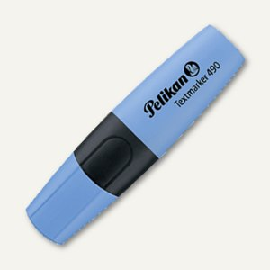 Pelikan Textmarker 490, 2-5mm, wasserbasis, nachfüllbar,blau, 940411