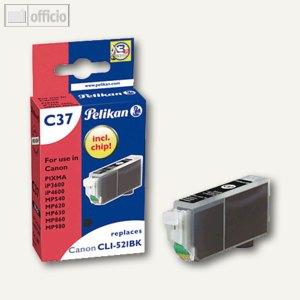 Tintenpatronen C37 für Canon CL521BK/CLI521BK