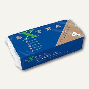Toilettenpapier, 2-lagig, 9.5 x 12 cm, Tissue-Qualität, weiß, 8 Rollen, 218826