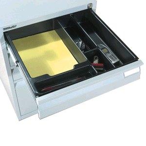 Bisley Einsatzkasten für Schubladenschrank Serie F, 5 Fächer, PIT522P1