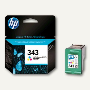 HP Tintenpatrone Nr. 343 color, 7 ml, C8766EE