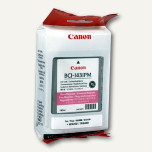 Canon Tintenpatrone BJW6200, photo-magenta, BCI-1431PM, 8974A001