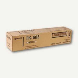Kyocera/Mita Toner-Kit TK-603 schwarz - ca. 30.000 Seiten, 370AE010