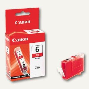 Canon Tintenpatrone I990, rot, BCI-6R, 8891A002