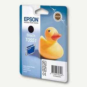 Epson Tintenpatrone T0551, schwarz, C13T05514010