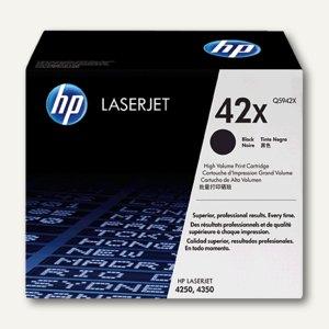 HP Toner für Laserjet 4250/4350 schwarz - ca. 20.000 Seiten, Q5942X