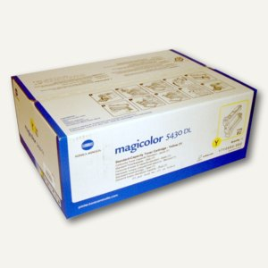 Konica Minolta Toner gelb ca. 6.000 Seiten, 4539132