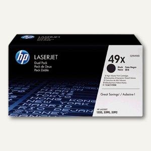 HP Toner 49X, ca. 6.000 Seiten, schwarz, Q5949X