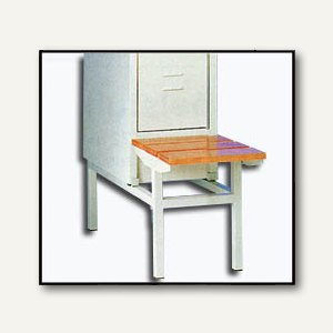 Artikelbild: Sitzbank für 1-türigen Stahl-Reihenspind