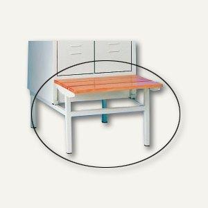 Sitzbank für 2-türigen Stahl-Reihenspind