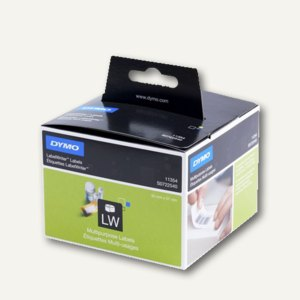 Dymo Vielzweck-Etiketten, wiederablösbar, 57 x 32 mm, weiß, 1.000 Stück,S0722540