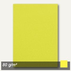 Clairefontaine Kopierpapier, DIN A4, 80 g/m², kanariengelb, 100 Blatt, 4107c