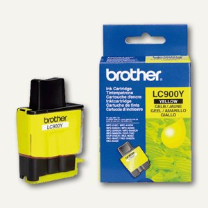 Brother Tintenpatrone gelb, LC900Y