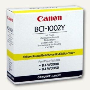 Canon Tintenpatrone BCI-1002Y gelb, 5837A001
