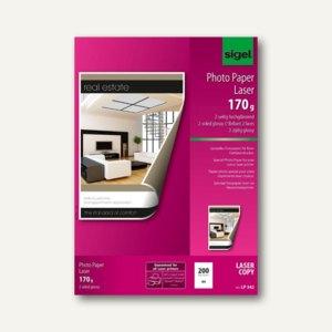 Fotopapier für Farb-Laser-Kopierer