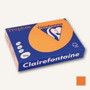"""Papier """"Trophee"""", DIN A4, 80g/m², clementine/orange, 500 Blatt, 1878C"""