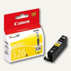 Canon Tintenpatrone CLI-526Y, ca. 520 Seiten, gelb, 4543B001