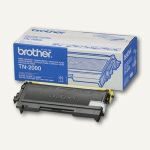 Brother Toner schwarz, ca. 2.500 Seiten, TN-2000