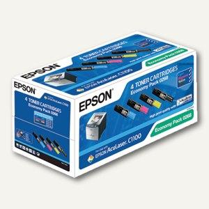 Epson Toner Kit AcuLaser C1100, CMYK, C13S050268