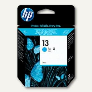 HP Tintenpatrone Nr. 13, cyan, 14 ml, C4815AE