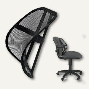 Fellowes Universal Netz-Rückenlehne Office Suites Mesh, schwarz, 8036501