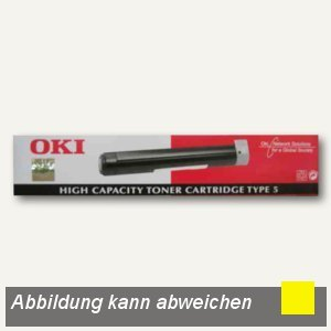 OKI Toner gelb ca. 3.000 Seiten, 42804545