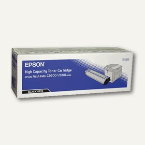 Epson Toner AcuBrite AcuLaser C2600 schwarz ca. 5.000 Seiten, C13S050229