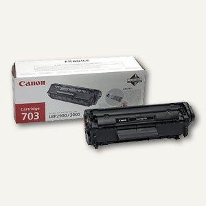Canon Lasertoner Typ 703, ca. 2.000 Seiten, schwarz, 7616A005