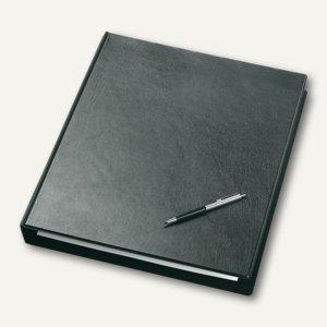 "Veloflex Ringbuch ""Exclusiv"", DIN A3 hoch, 4 D-Ringe Ø 30 mm, schwarz, 4130280"