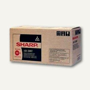 Sharp Toner AR208LT, bis zu 8.000 Seiten, schwarz, AR208LT