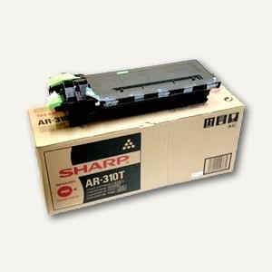 Sharp Toner AR310LT, bis zu 25.000 Seiten, schwarz, AR310LT